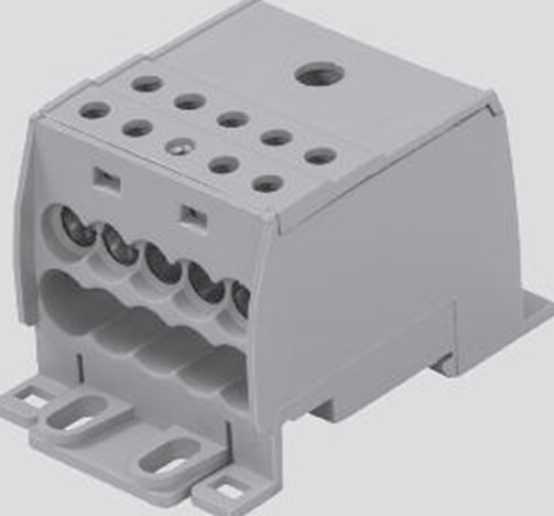 Power Terminal Block : Weidmuller power distribution terminal blocks