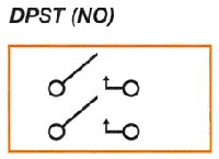 Double Pole Single Throw Relay Contact Diagram