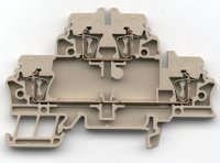 Weidmuller Z-Series multi-level feed-thru terminal block