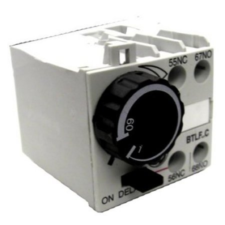 GE BTLF60C Pneumatic Timer 1-60sec 104710 NEW